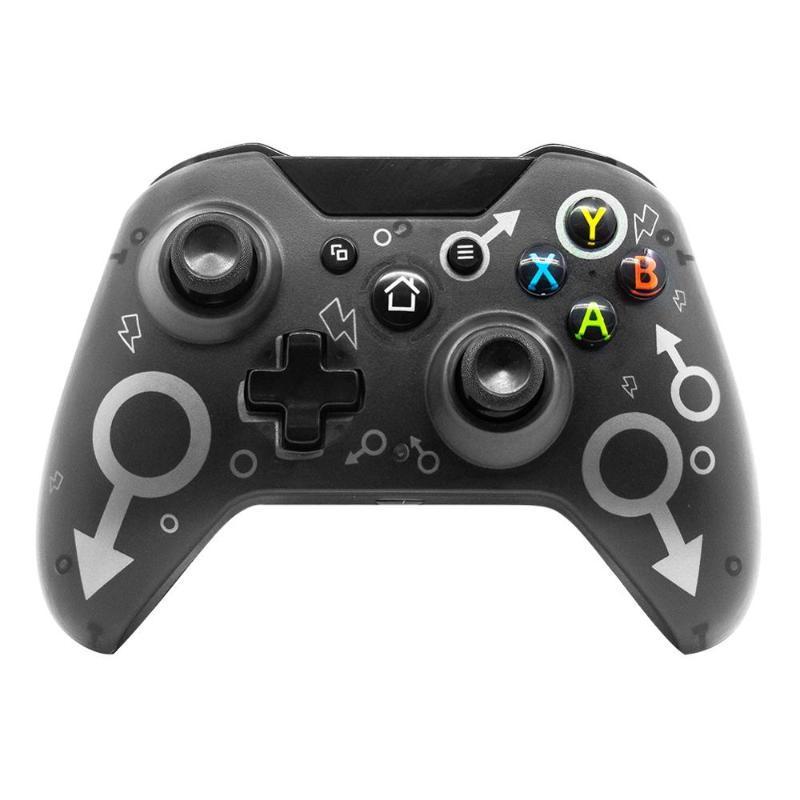 Per Xbox One PS3 PC Games Joystick Gamepad con vibrazione a doppia vibrazione N-1 Wireless 2.4GHz Controller controller per controller di gioco Joysticks