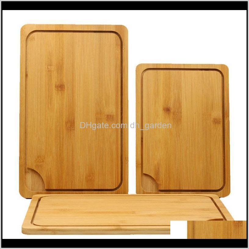 Japanese Kitchen Antibacterial Cutting Board Multifunction Bamboo Blocks Cut Bread Dessert Steak Chopping Plate Bh1296 Tqq Rtp2W Bzjta