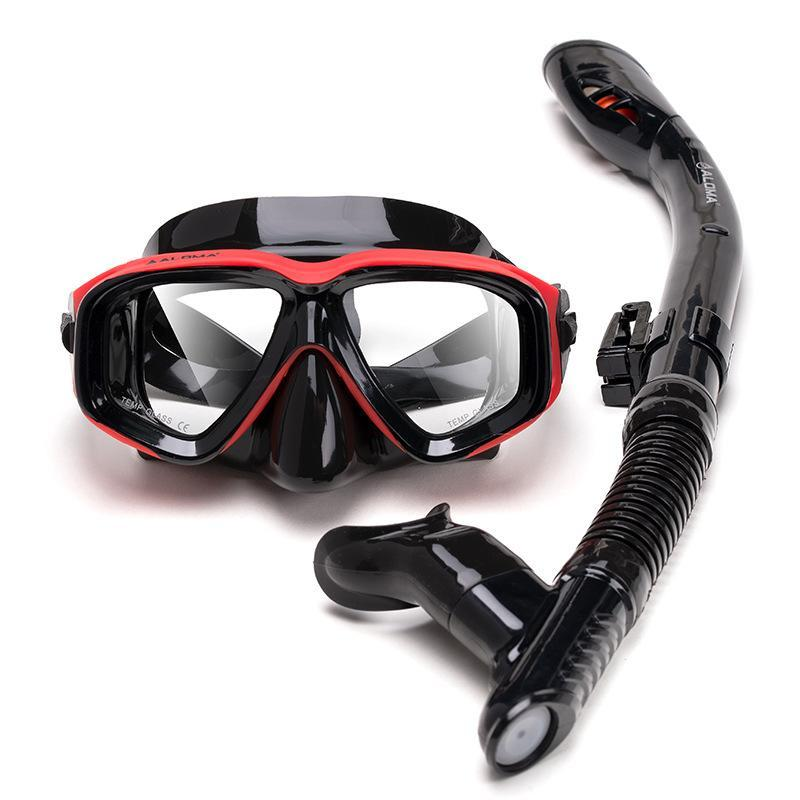 Diving Masks Outdoor Deep 30m Anti-Fog Dry Tube Set Goggles Full Of Scuba Mask Equipment With Snorkel