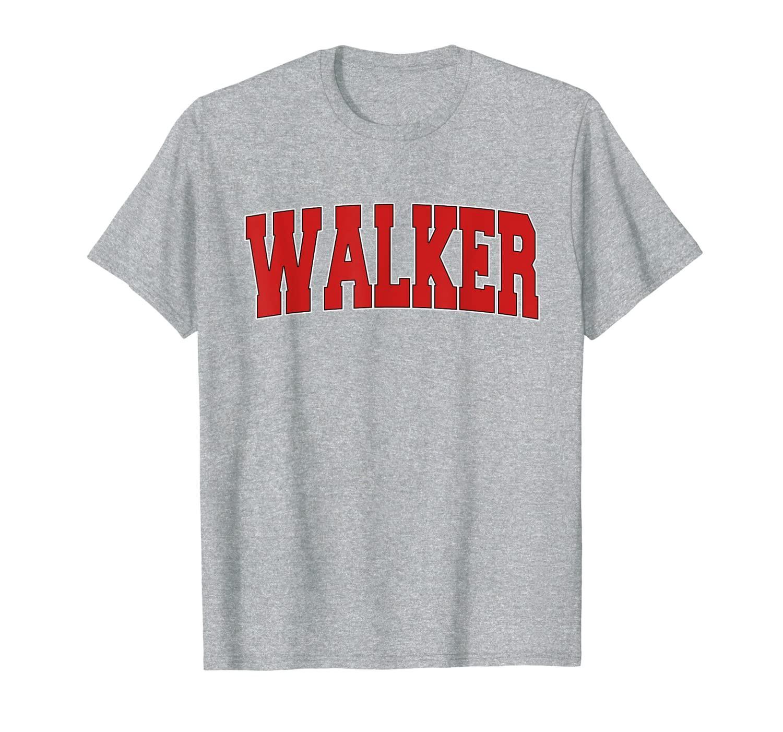 Walker la louisiana varsity tarzı abd vintage spor tişört