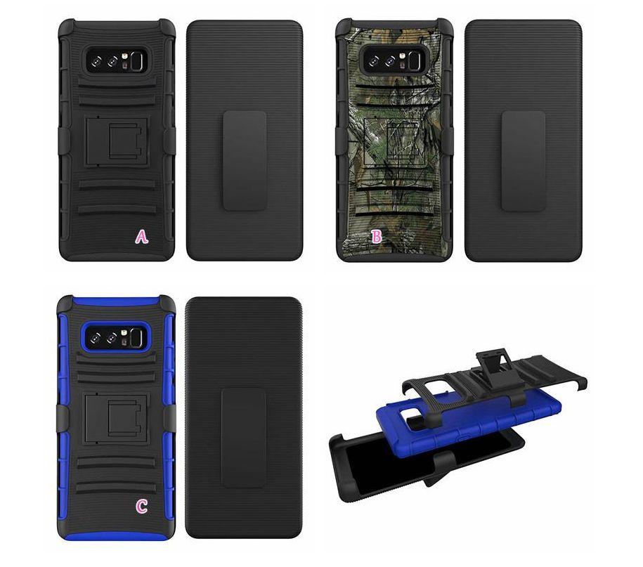 Cinto Clipe Camuflagem Exército Casos à prova de choque para Samsung A51 A71 5G S20 Ultra LG K30 Rugged Hybrid Hybrid Hard PC + TPU Holster Holster Capa