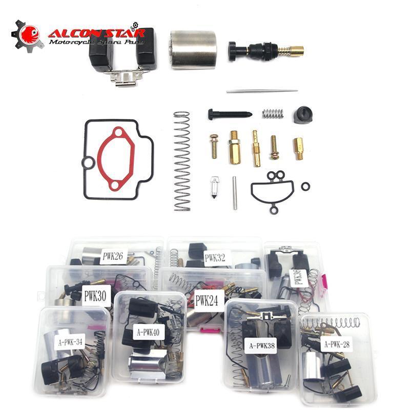 Alconstar Repair Kit 24 26 28 30 32 34 36 38 40mm PWK KEIHIN OKO KOSO Motorcycle Carburetor Carburador Universal Spare Jets Sets Fuel System