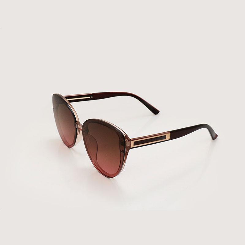 고품질 패션 여자 선글라스 Occhiali 다 유일한 고양이 눈 안경 Mens Sunglass gafas de sol 핑크 그라데이션 렌즈 여성 안경 3769 블루 안경 남자