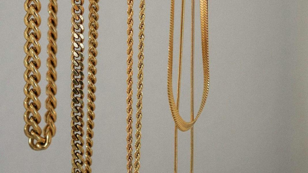 Moda 18k banhado a ouro aço inoxidável espesso link Chain Colar Chunky Miami Dupla camadas de cobra Cadeiras Gargantilha Garganta