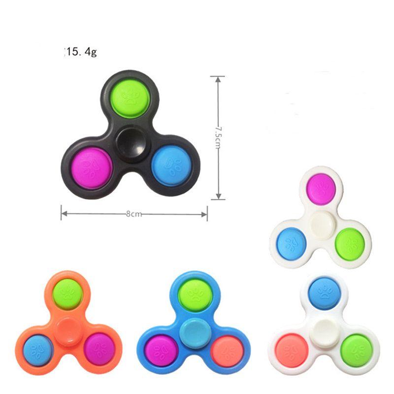 Pop Oyuncaklar Fidget Sensory Push Kabarcık Kurulu Oyunu Anksiyete Stres Rahatlatıcı Çocuklar Yetişkin Otizm Özel İhtiyaçlar E8324