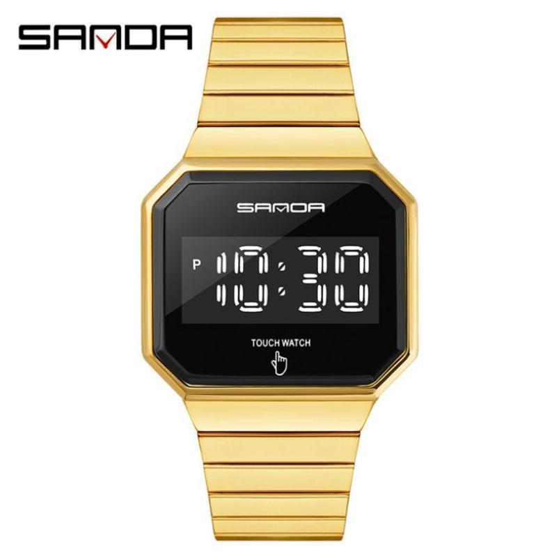 Montres Mode Mens Montres Touch Screen Screen Watterwatch Watchwatch LED Montre numérique pour hommes Horloge Relogios Masculino 8001 Montres-bracelets
