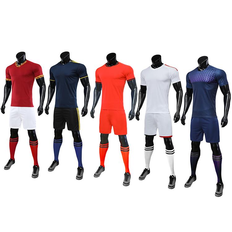 2019-2020 youth soccer uniforms sets jersey football