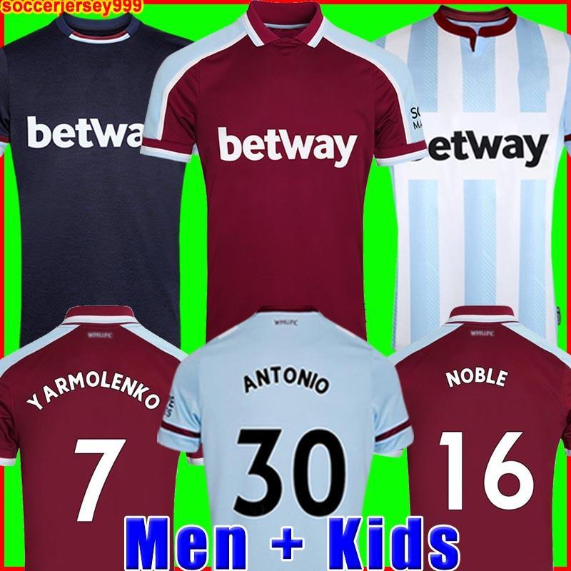 20 21 maglia da calcio 2020 2021 NOBILI maglie ANDERSON RISO NOBILI magliette di calcio degli uomini + bambini kit 125 anni 125 ° terzo nero