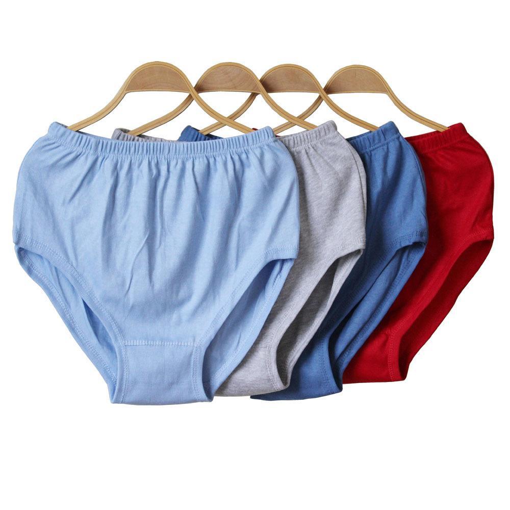 Herren Baumwolle Hohe Taille Slips, Mittlere Alter und alte Menschen Mast Plus Size Shorts, Unterhose, Dads lose Unterwäsche des Vaters