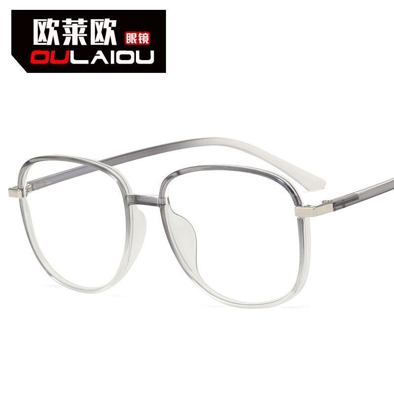 Eyeglass Tr90 Transparent Art Unlimited Digital Anti Blu Ray Computer Flat Myopia Frame