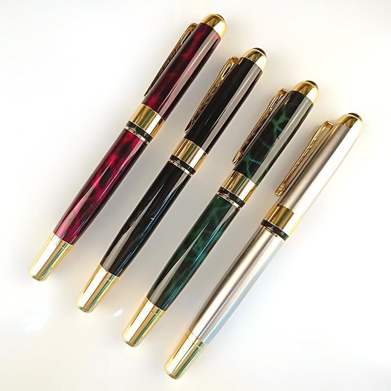 Logo personalizzato di lusso di alta qualità disponibile Penna a rulli in metallo