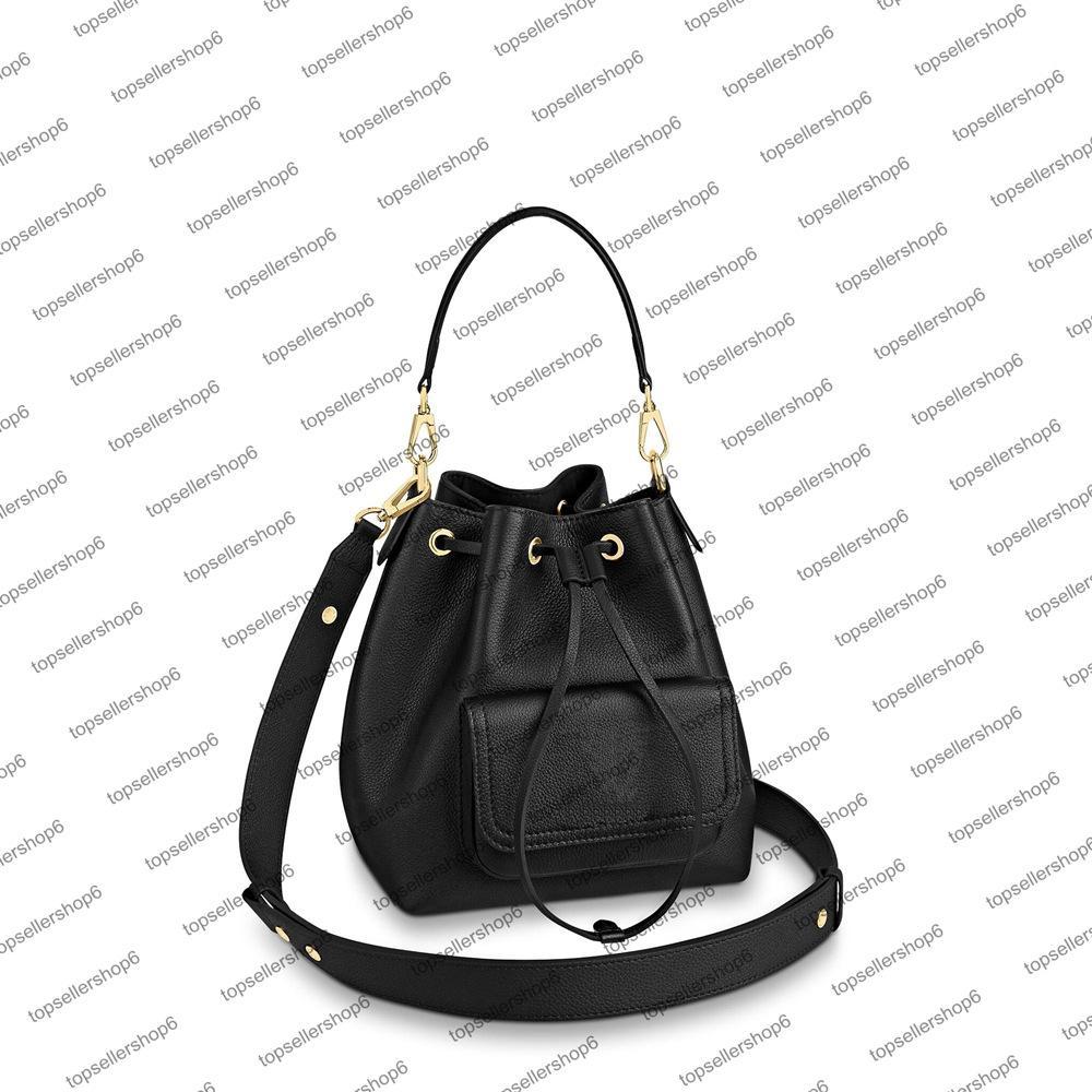 M57687 المرأة بدوره قفل دلو مصمم حقيبة حقيقية العجل رغوة الصابون قابل للتعديل حزام الكتفينج حقيبة يد الجسم محفظة