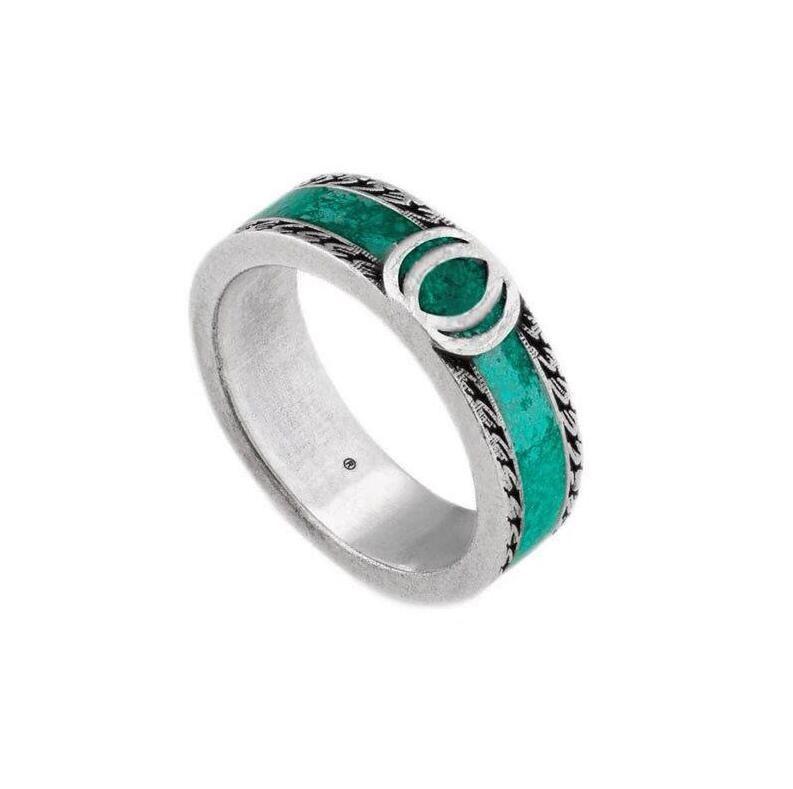حلقات التيتانيوم الفولاذ المقاوم للصدأ الحب خواتم للنساء الرجال مجوهرات الأزواج 925 فضة خواتم الزفاف لا مربع 6 ملليمتر