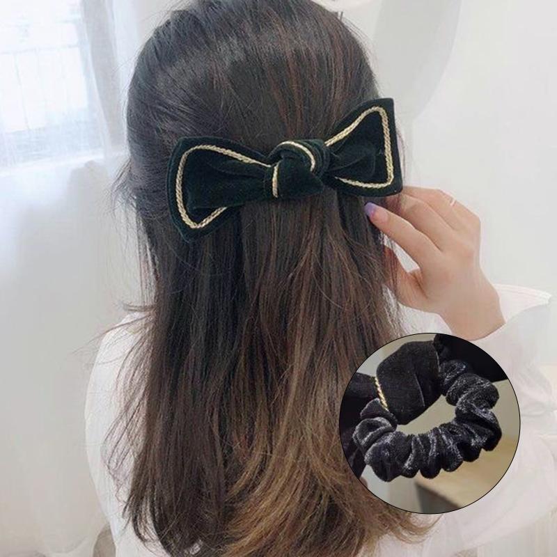 여성 남한 남한 활 머리띠 달콤한 머리카락 밧줄 매력적인 웹 유명 인사 포니 테일 탄성 밧줄 @ 88 액세서리