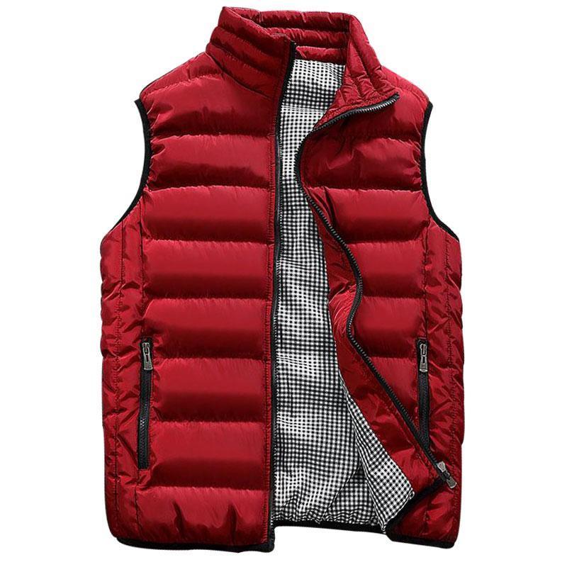 Chaleco hombres elegantes chalecos de otoño primavera cálida chaqueta sin mangas del ejército chaleco chaleco de la moda de los hombres abrigos casuales para hombre 10 colores 19