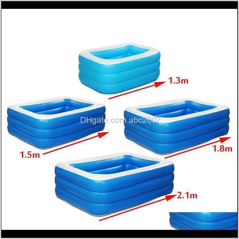 115m18m21m Erwachsene Kinder Aufblasbare Pool Badewanne Outdoor Indoor Paddling PFDS Kulc0 PBMCT