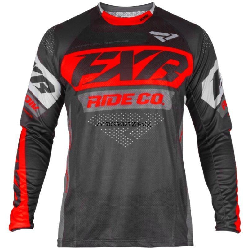 2021 Новый Мотокросс Джерси МТБ Джерси Даунхилл MX DH Maillot Ciclismo Cycling Jersey Мужчины Длинный рукав FXR DH MTB X0503
