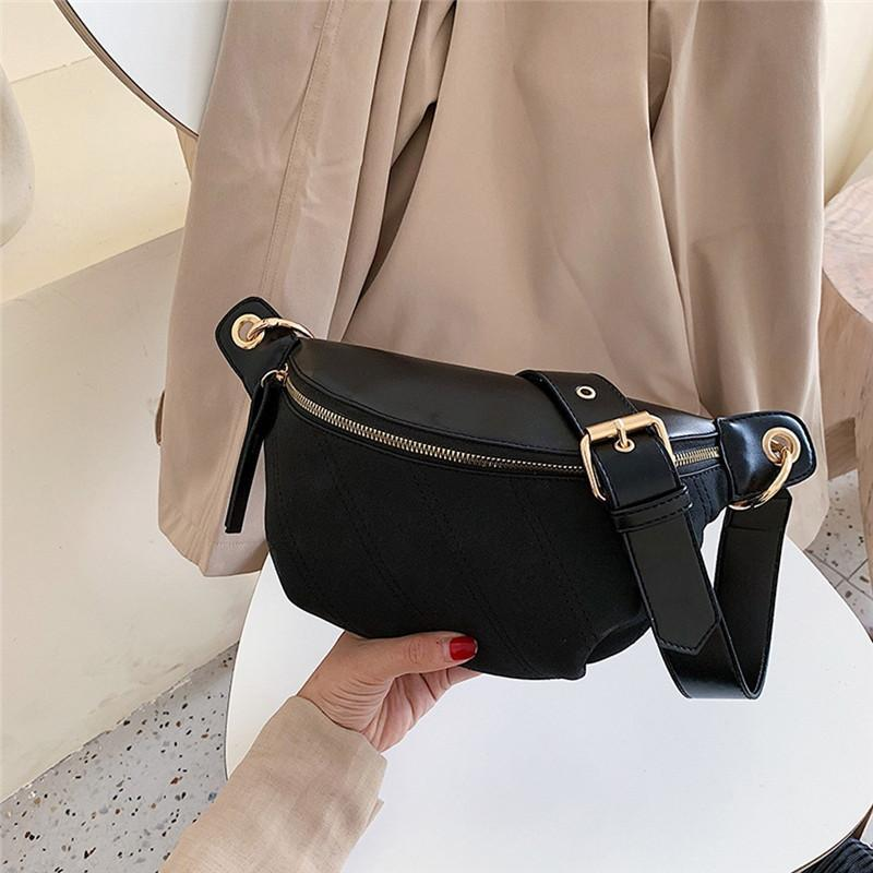 Pacchetti della vita della moda delle donne PU PU Cinghia regolabile Cintura regolabile Fanny Pack Soldi Borsa da viaggio Piccola Borsa Borsa Borse # 40 Borse