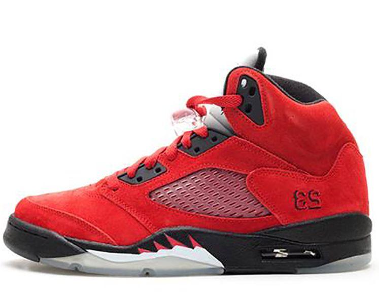 con caja 2020 botas para hombre zapatos zapatillas de deporte 5s raby toro rojo para hombres zapatos deportivos tamaño US7-13