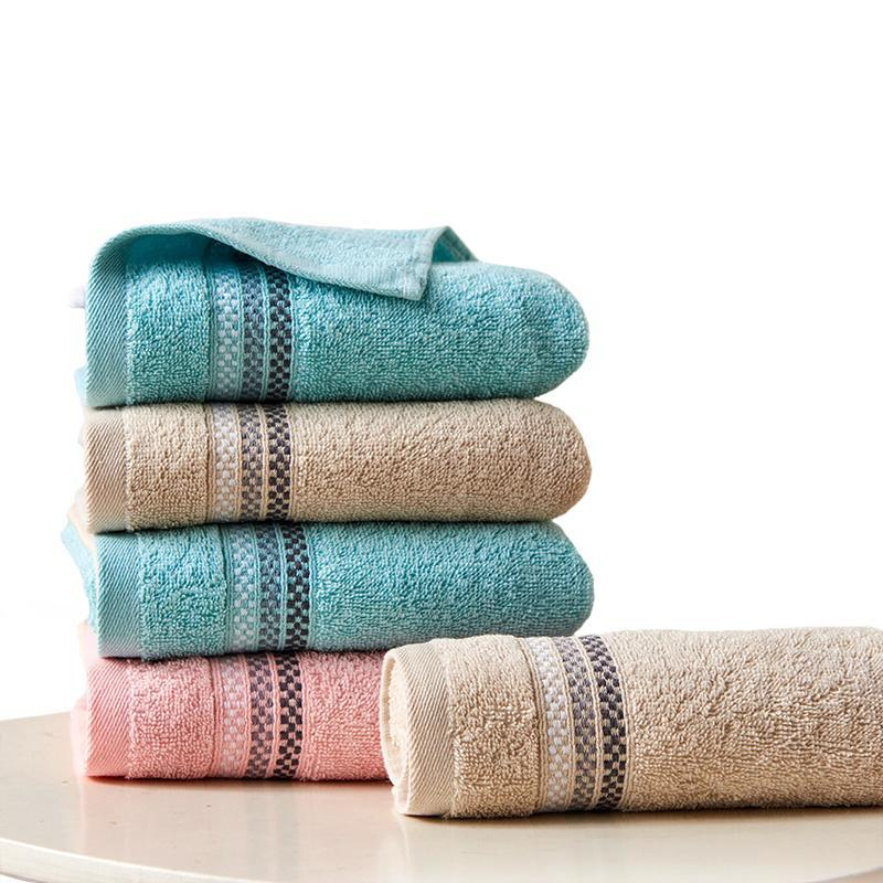 Towel 2pcs 33*72cm Face Bathroom For Home El Towels Adults High Quality Terry Super Absorbent