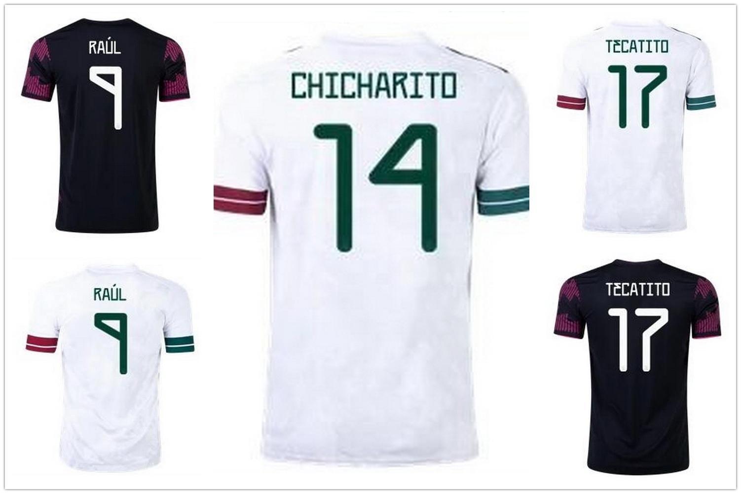 Altın Kupası Meksika 20-21 Futbol Formaları Özelleştirilmiş Tayland Kalite Yakuda Toptan Eğitim En İyi Spor Yerel Çevrimiçi Mağaza 14 Chicharito 18 A.Guardado 22 H.lozano 9 Raúl Giyim