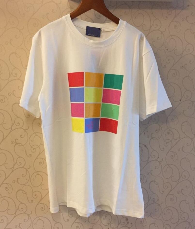 Herren T-Shirt Herren T-shirt Sweatshirt Gute Qualität 100% Baumwolle Hemden Asiatische Größe Bitte überprüfen 20 ss Frühling Sommer Frauen Casual Mädchen Unisex Atmungsaktiv