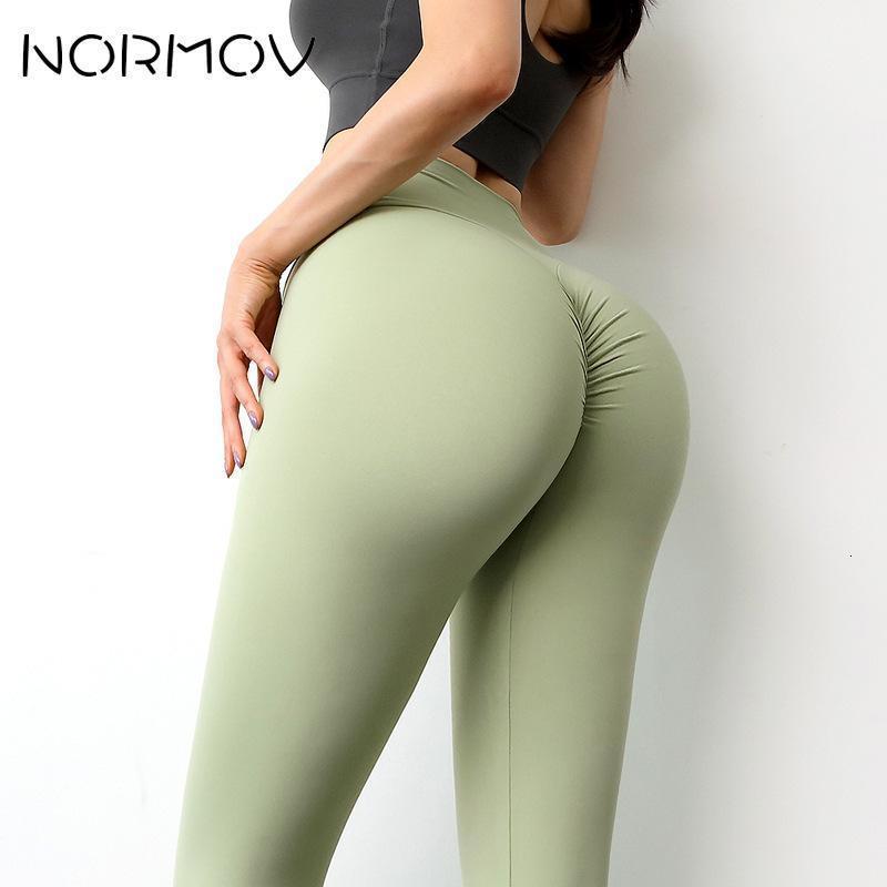 Normov Taille haute Yoga Pantalon sans soudure Fesses de gymnase de levage de levage de levage push up push up running sport leggings femmes vêtements de fitness vêtements