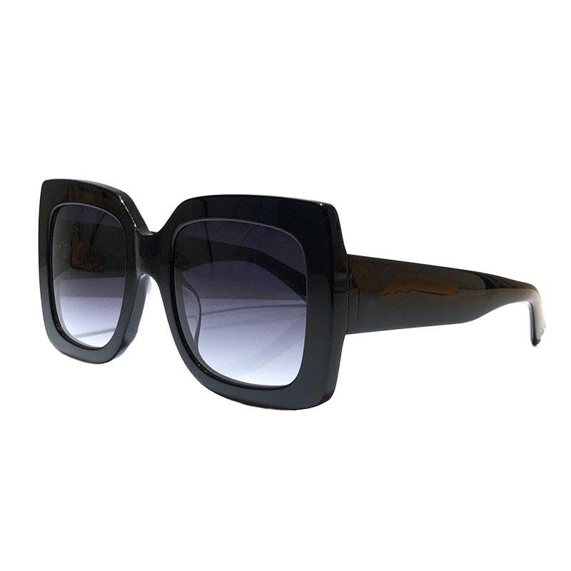 Sommer-Sonnenbrillen für Frauen-Stil 0083 Anti-Ultraviolett-Retro-Platte eingelegte Perlen-Rahmen-Mode-Brillen-Zufallskiste 0083s
