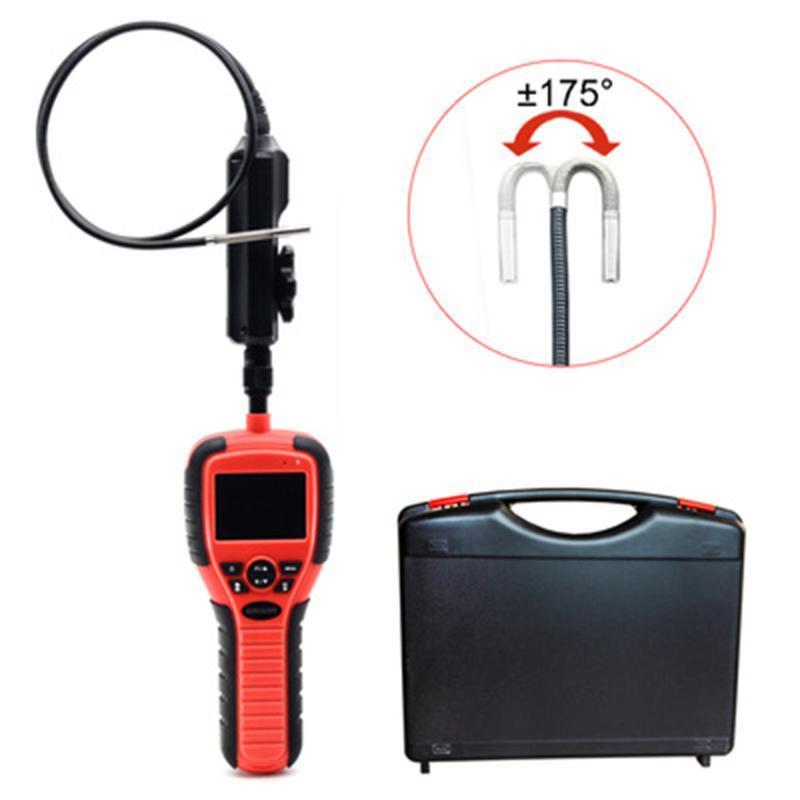 Endoscopio industrial 6 mm 1080p Cámara de Borcopio digital de alta definición de alta definición de 2.7 pulgadas Pantalla LCD de 2.7 pulgadas En forma de serpiente de video Inspección de video Cámaras IP