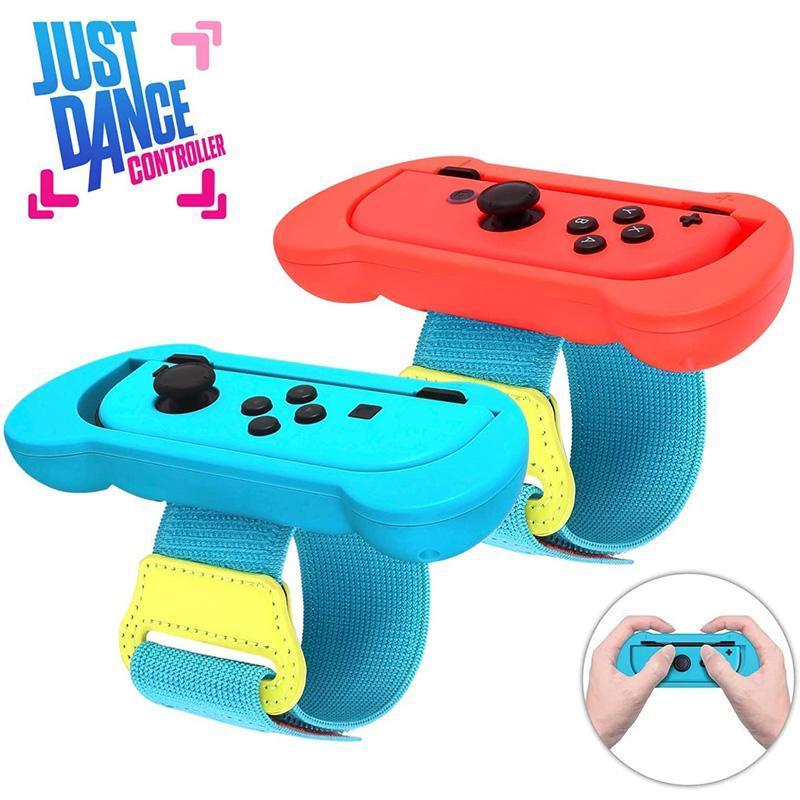 Polsino cinturino da polso da polso elasticizzato regolabile 1PAIR per interruttore Joystic Joystic Joystic Joystic