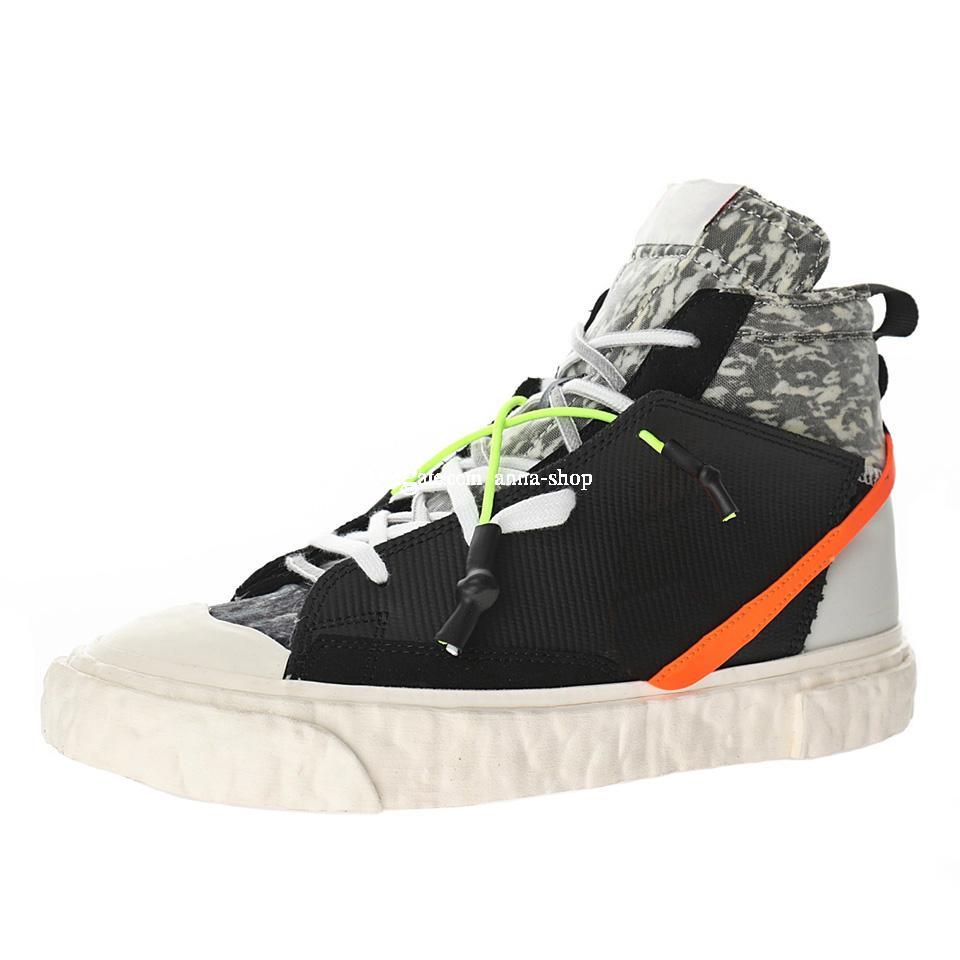 Stivali da skate readymade per uomini pronti pattini fatti scarpe da uomo Sport Stivale da donna Sneakers Donne da donna Sneaker Snakeboard Scarpe Sport Chaussures CZ3589-001