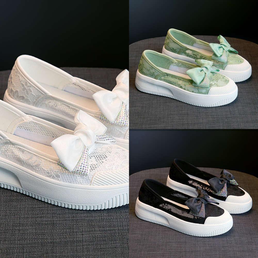 Rahat Ayakkabılar Xiaoxiangfeng Fisherman's Sandalet kadın 2021 Yaz Yeni Ilmek Kalın Soled Bir Ayak Rahat Moda H88D