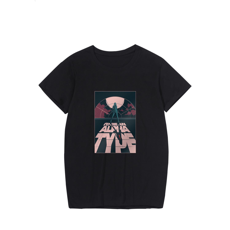 Camiseta Casual Jersey Manga corta Taylers Slov Taylerswift Canción del hombre Camiseta de las mujeres periféricas