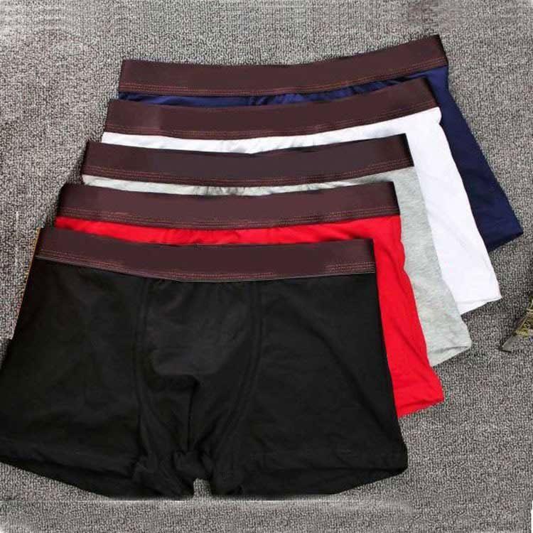Designers Marque Mens Boxer Hommes Sous-trains Bref pour homme Sous-gardes Sous-vêtements Sexy Sous-vêtements Boxers Coton Sous-vêtements Shorts 3Pièces Venez avec une boîte