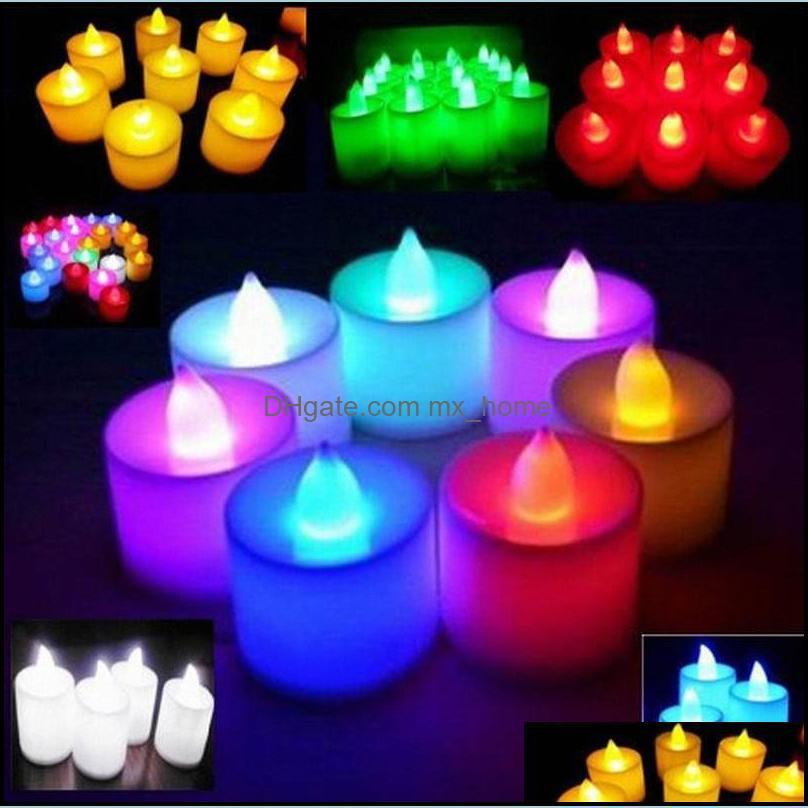 Lamps&Shades Decor Nursery Store Baby, Kids & Maternity3.5*4.5 Cm Led Tealight Tea Candles Flameless Light Battery Operated Wedding Birthday