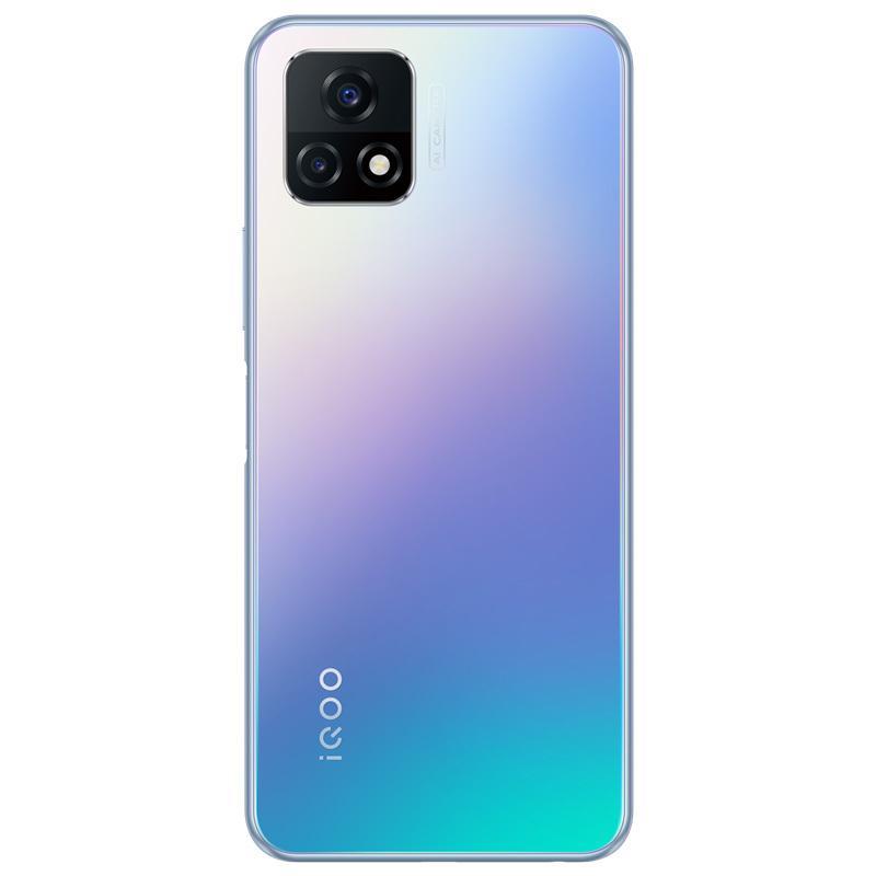 "Original vivo iqoo u3x 5g Handy 4 GB RAM 128 GB ROM Snapdragon 480 Octa Core Android 6.58 ""Vollbild 13MP 5000mAh Fingerprint ID FACE WACK SMART MELHE"
