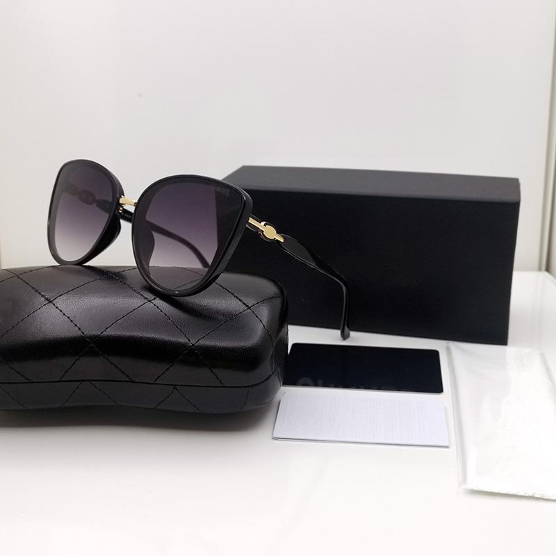 Mode Frauen Sonnenbrille Luxus Gläser Designer Gafas de Sol de Gradient Farbe Sonnenbrille Womens Brillen UV400 Cat Eye Sonnenbrille 3707 BR