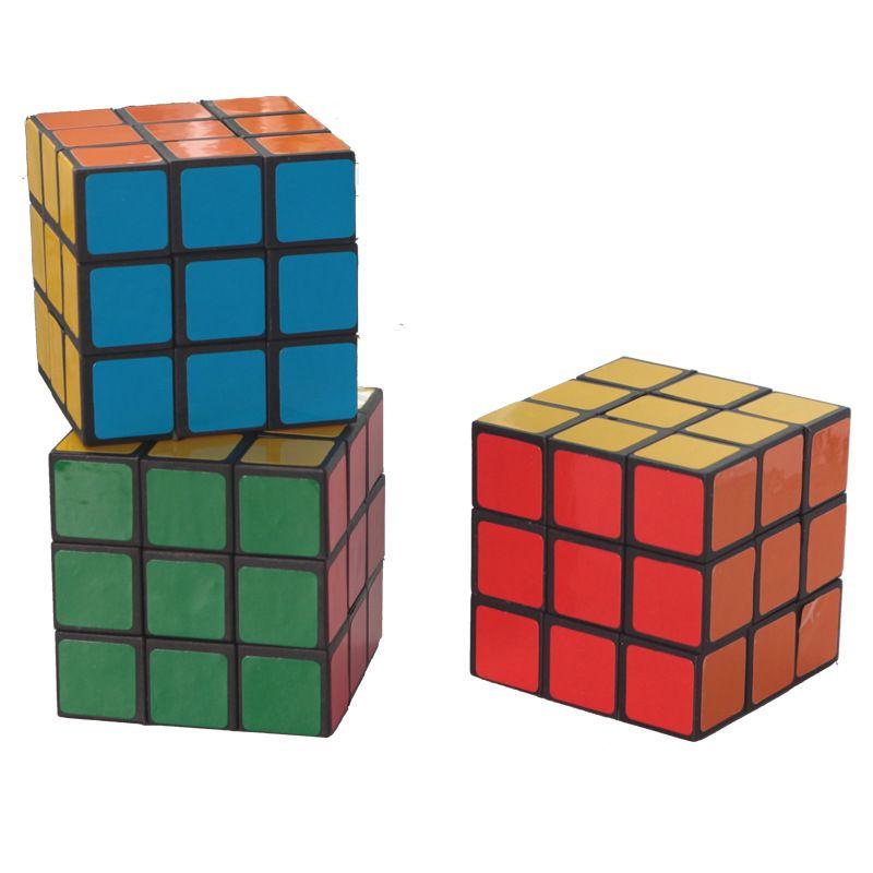 Puzzle cubo pequeño tamaño 3 cm mini mágico rubik juego aprendizaje educativo buen regalo juguete descompresión juguetes niños