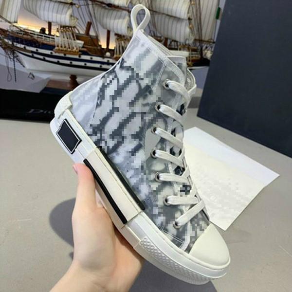 Classic Canvas Scarpe da uomo Donna Casual Fashion Pelle Lace Up White Shoe Top Quality Platform Lusurys Designer