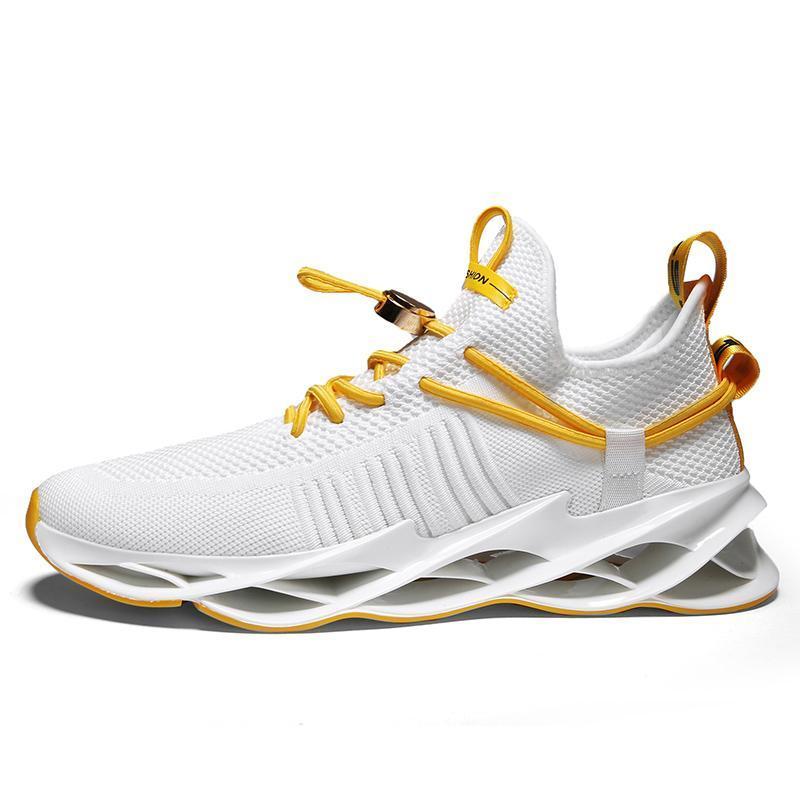2021 الرجال الاحذية الثلاثي أسود أبيض أزياء رجالي المرأة العصرية المدربين العظماء تنفس عارضة الرياضة في الهواء الطلق أحذية رياضية Type26