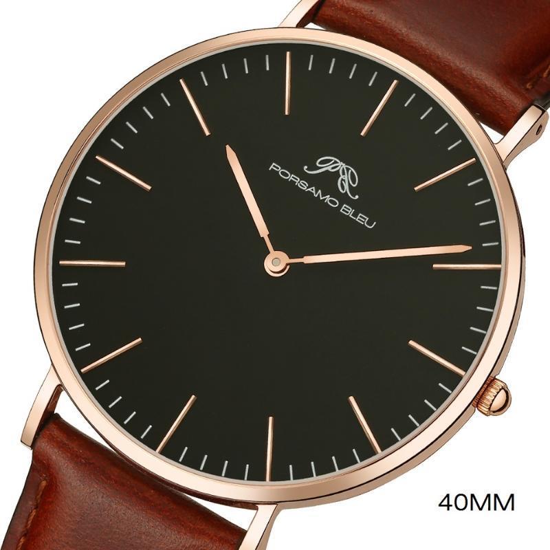 Montres de quartz de 40 mm pour hommes stylish shopping watch à prix abordable Price EST Acheter des montre-bracelets globaux