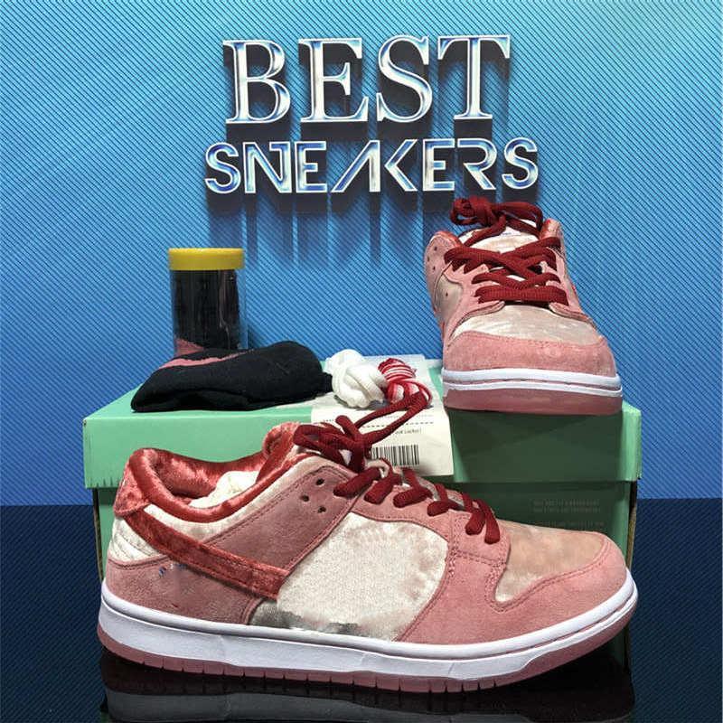 أعلى جودة رجل إمرأة منخفضة sb المصممين أحذية مكتنزة dunky unc لعبة ليلة من الأذى كنتاكي ترافيس سكوتس مفاهيم الأرجواني الدببة الرجال الرياضة المدرب sneake مع مربع