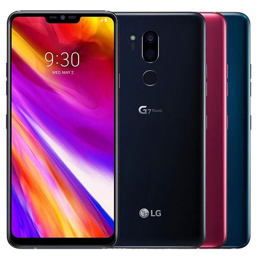 Original Refurbished LG G7 ThinQ G710ULM G710EM 6.1 inch Octa Core 4GB RAM 64GB ROM 16MP Unlocked 4G LTE Smart Phone DHL 1pcs