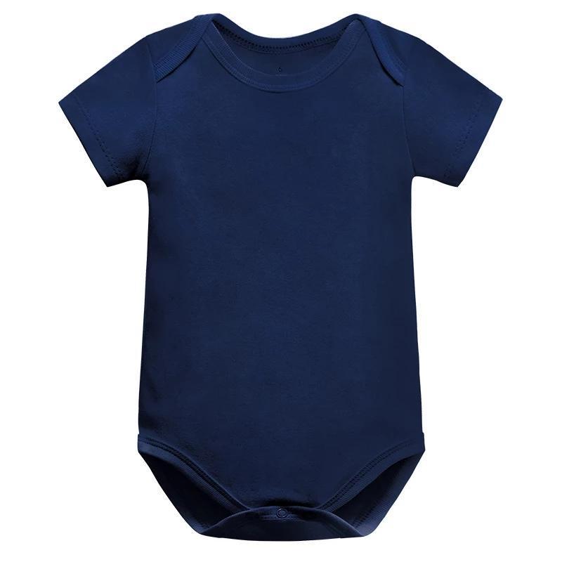 Baby Boy Ropa Nacido Niña 100% algodón 0-24m Body Ropa de niñas ROUPAS PURE COLOR MOMPERS