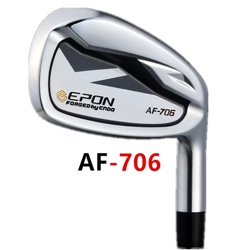 Uomini Golf Clubs EP AF-706 Irons Set 5-9 P A Iron Club Stee Shaft o Graphite R / S Flex