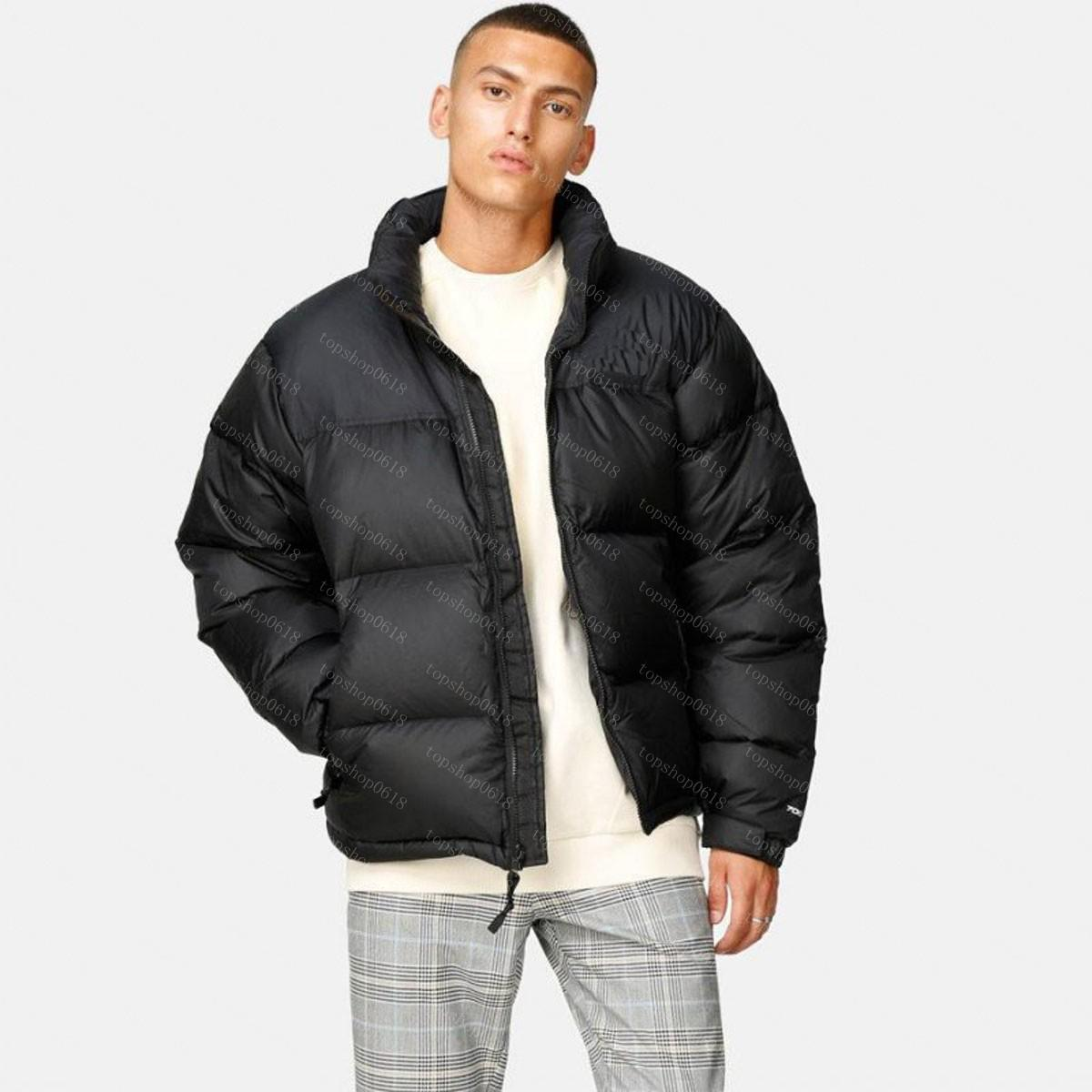 2021 Chaqueta de invierno de la chaqueta de la calidad superior de los hombres chaquetas de sopladores con capucha con capucha Abrigos gruesos para hombre Parejas Parka Winters Abrigo Tamaño M-XXL