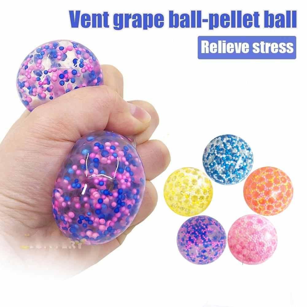 Dhl Party Favors Braving colorato groviglio giocattoli giocattoli globbli anti-stress maniglia stress palline appiccicoso morbido morbido squishy ansia ansia fignet giocattolo sensoriale cy26