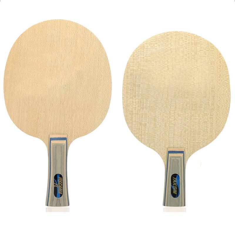 Tischtennis-Raffinar-Raffinar-Arylat-Kohle-Paddel schnelle Angriffsschleife-Pong-Bat-Schläger Hohe Qualitätsmaterialstabilität