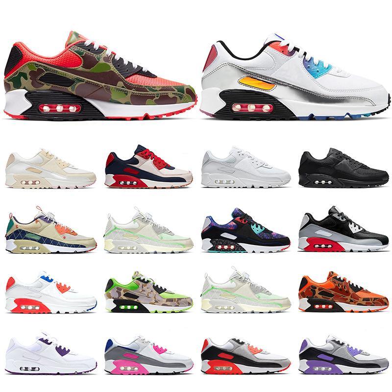 Koşu ayakkabıları erkekler kadınlar iyi bir oyun camo kızılötesi ev uzakta üçlü siyah beyaz erkek bayan eğitmenler sneakers spor yürüyüş yürüyüş