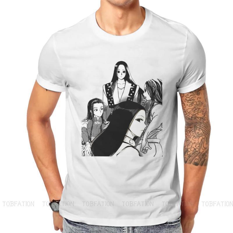 남자 티셔츠 x 일본 모험 애니메이션 원래 Tshirts illumi 인쇄 homme 티셔츠 재미있는 탑스 크기 S-6XL